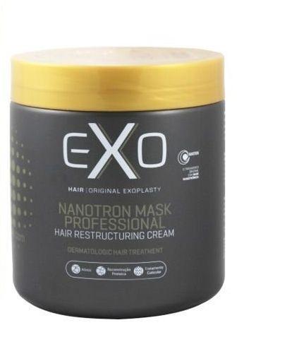 Exo Nanotron Mask Hair Restructuring Cream Mascara Reconstrução - 500g