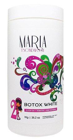 Maria Escandalosa B.tox Capilar White 1kg (+ Brinde)