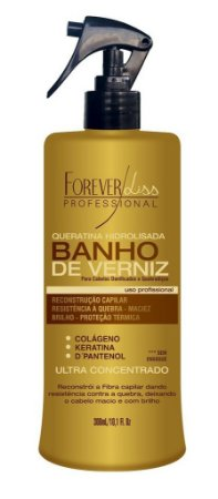 Forever Liss Spray Queratina Banho de Verniz - 300ml