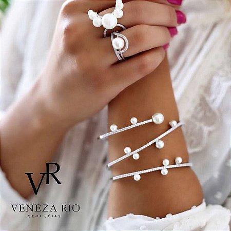 Bracelete Em Rodio Branco!!!