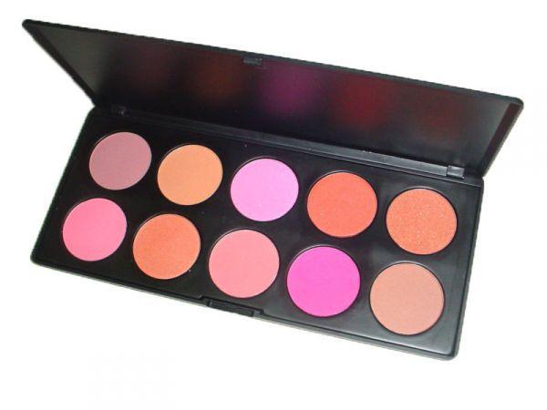 Paleta 10 blushes