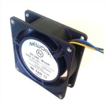 Cooler Nework Rt-080 80x80x25mm Bivolt - 51.101 - Rolamento - 8025BIR