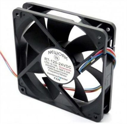 Cooler Nework24VRT-12016.108(R ) 120X120X25mmROLAMENTOAmp.:0,24RPM: 3000 - 1202524R