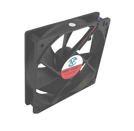 Cooler NEW FLOW 12VNF12025HS-12 120X120X25mmBUCHAAmp.:0,37RPM:2000 - 1202512B