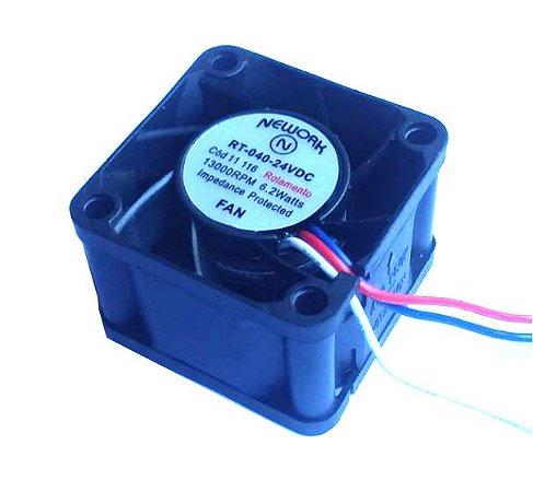 Cooler Nework24VRT-04011.11640x40x28mm ROLAMENTOAmp.:0,22RPM:13000 - 402824R