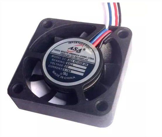 Cooler Adda 5v Asa4010-hb-05 40x40x10mm Rolamento 6100 Rpm - 401005R