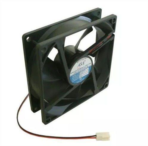 Cooler Adda12V9025S-12/2D91/290X90X25mmBUCHAAmp.:0,18RPM:2400 - 902512B2 FIOS C/ CONECTOR