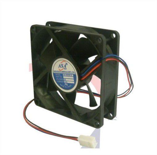 Cooler Adda24V8025S-2480X80X25mm BUCHAAmp.:0,13RPM:3000 D82 - 802524B