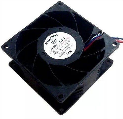Cooler Nework12VRT-08014.112-H 80X80X38mmROLAMENTOAmp.:2,80RPM: 9000 - 803812R