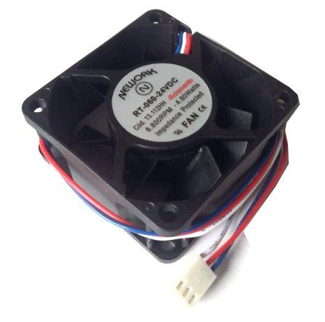 cooler Nework 24v RT-060 13.112-hh 60x60x25mm Rol. Rpm 6800 - 602524R