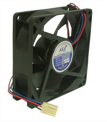 Cooler Adda 48v 8025B-48 D85 80X80X25mm ROLAMENTO Amp.: 0,06 RPM 3000 3 FIOS C/ CONECTOR - 802548R