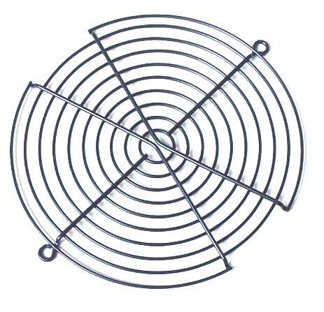 Grade Telinha De Proteção Para Ventoinha Cooler 172mm S/ PARAFUSO - PRATA