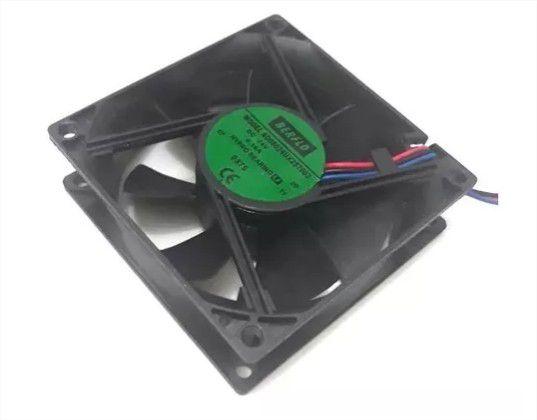 COOLER 80X80X25 - 24V - HYPRO 0.16 AMP - 3.84 WATTS - 3400 RPM - 43,50 CFM 40,5 DB(A) - BERFLO - AD08024UX257603