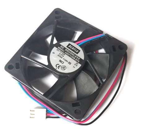 Cooler Berflo 12V AD0712HB-D76 (T) 663 70X70X15mm Rolamento Amp. 0.27 RPM: 4000
