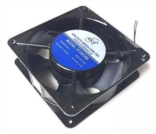 Cooler Adda 120x120x38mm Bivolt Automática Rolamento. 3200rpm - E122 E12038b