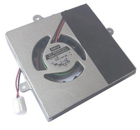 BLOWER 70X70X12 - 12V - ROLAMENTO 0.18 AMP - 2.16 WATTS - 3800 RPM - 6,70 CFM 34,0 DB(A) - BERFLO - AB7012HBE01