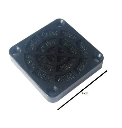 Fan Filter - Filtro para microventilador 40 mm- tela de nylon MOD GRM4030
