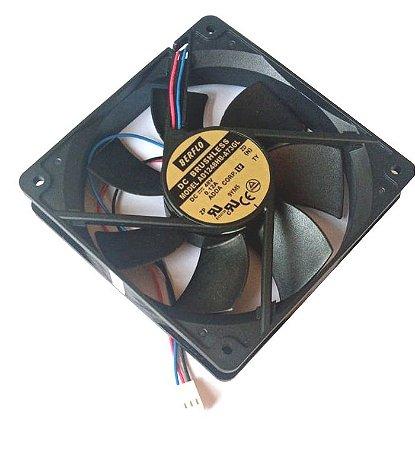 Cooler 120X120X25 48V AD1248HB-A73 (T) 1041 Rolamento Amp.:0.12 RPM: 2200 Berflo