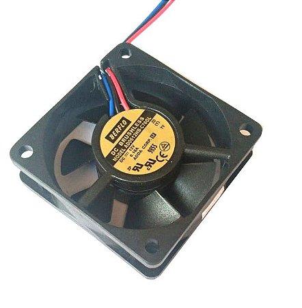 Cooler 60x60x20 12V AD0612HB-C76 - 450 Rolamento Amp.: 0.16 - RPM: 4500 Berflo