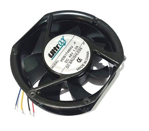 COOLER 48V 172X150X51 ROLAMENTO 1.0 AMP - 4.8 WATTS - 3500 RPM - ULTRAR