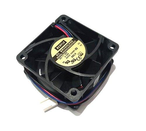 COOLER 24V 60X60X25 ROLAMENTO 0.12 AMP 5000 RPM - 26.18 CFM - BERFLO AG06024HB257603