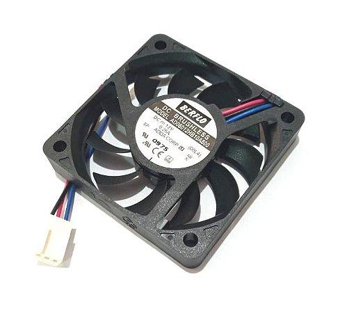 COOLER 60X60X10 12V ROLAMENTO 0.26 AMP - 4200RPM - 17.35 CFM - BERFLO - AD06012HB10A600(00L4)