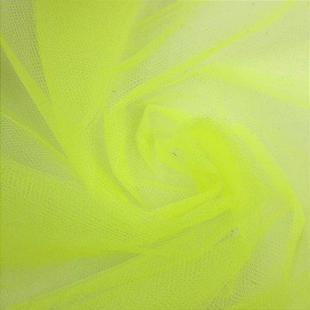 Tule Liso Amarelo Neon