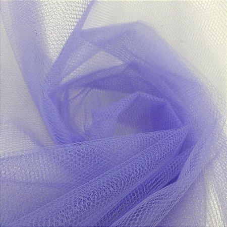 Tule Liso Azul Violeta