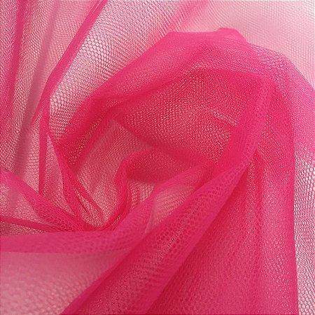 Tule Liso Rosa Pink