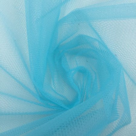 Tule Liso Azul Tiffany