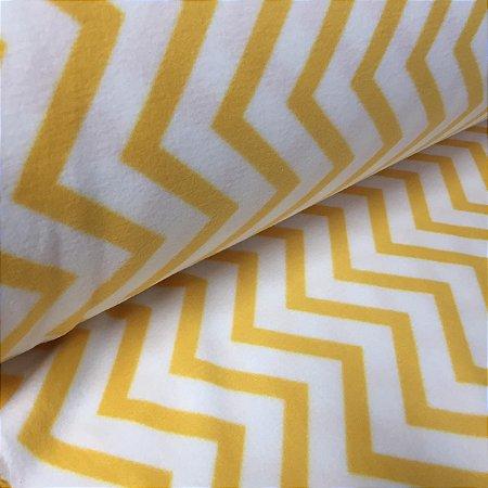 Soft Estampado Chevron Amarelo