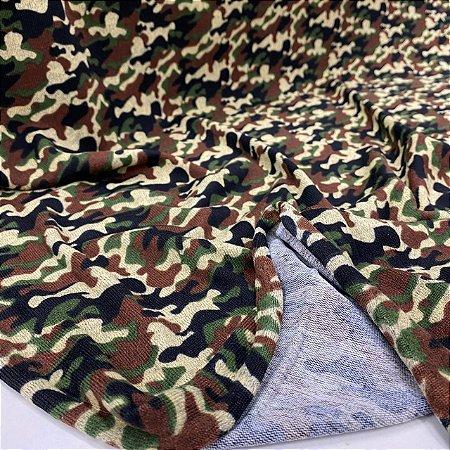 Malha Winter Estampada Camuflada