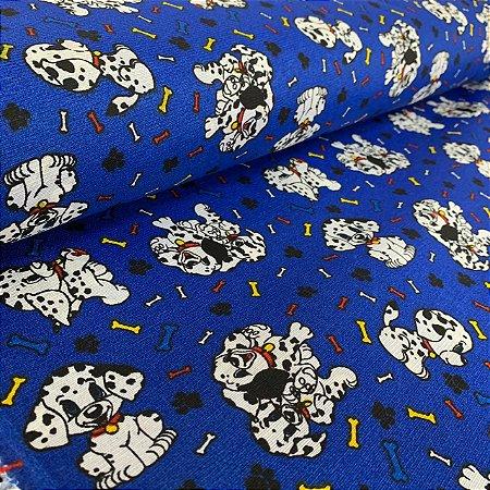 Gorgurinho Estampado Cachorrinhos Azul