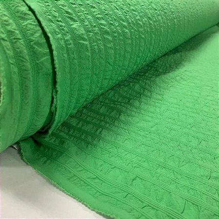 Promocional Crepe Faixado Verde Bandeira