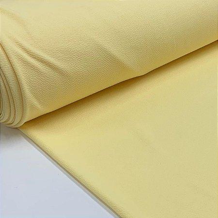 Malha Crepe Liverpool Amarela