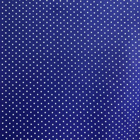 Tricoline Estampada Poá Miúdo Azul