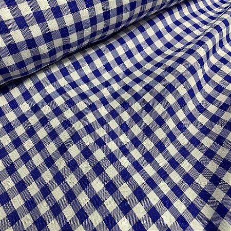 Oxford Xadrez Pequeno Azul