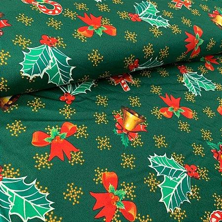 Oxford Estampado Enfeites de Natal