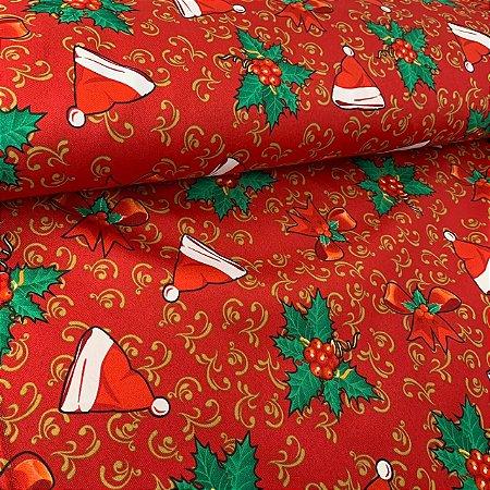 Oxford Estampado Gorro de Natal