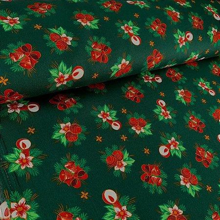 Oxford Estampado Árvore de Natal