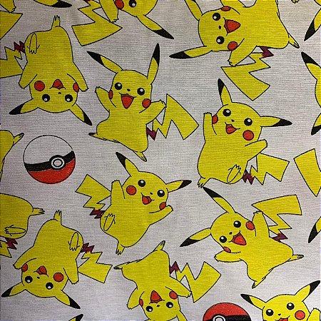 Tricoline Estampada Pikachu
