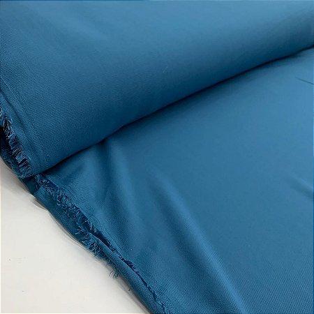 Crepe Chiffon Liso Azul Bondi