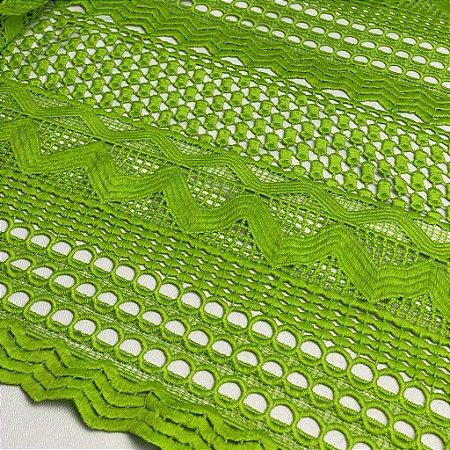 Renda Guipir  Verde