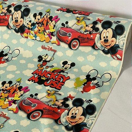 Suede Estampado Disney Mickey