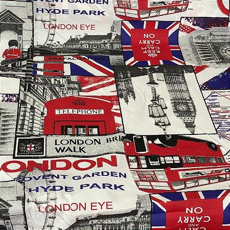 Gorgurão Impermeável Londres