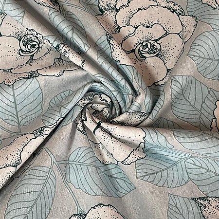 Percal Estampado Floral 6
