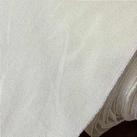 Chenille Liso Branco