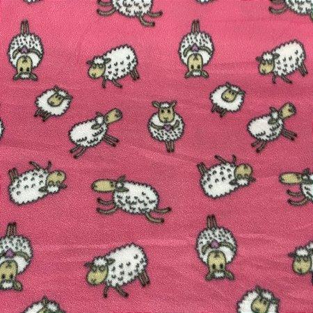 Soft Estampado Ovelinhas Rosa