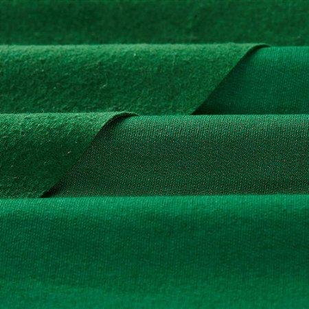 Moletom Peluciado Verde Bandeira