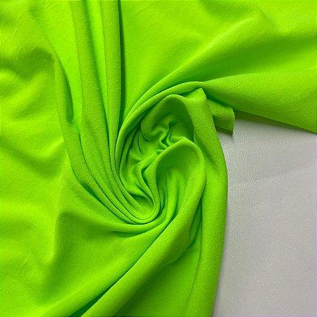 Malha Tensionada Verde Neon
